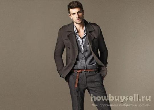 Как выбрать стильное мужское пальто?