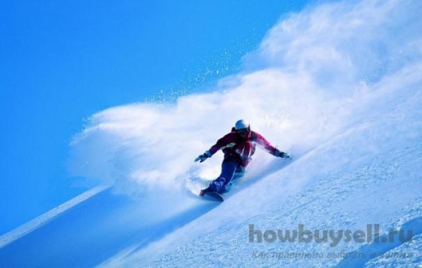 Как правильно выбрать хороший и надежный сноуборд?