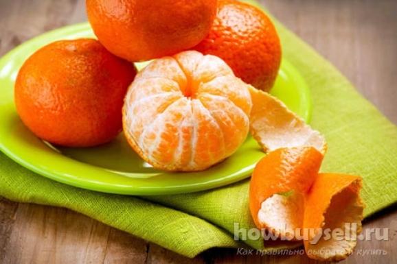 Как выбрать сладкие мандарины?