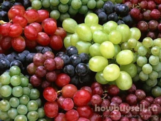 Как выбрать сладкий виноград?