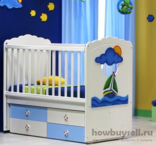 Удобное и безопасное место или как выбрать кроватку для новорожденного