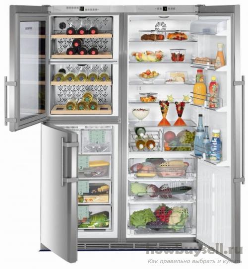 Объем камеры холодильника
