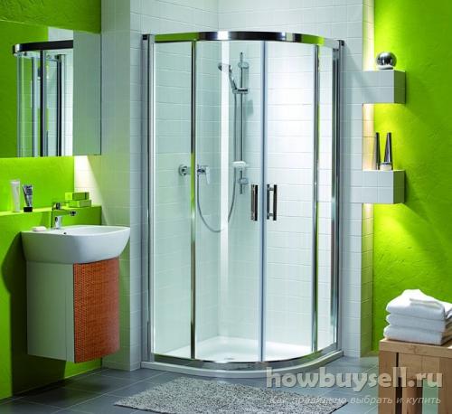 Как выбрать лучшую душевую кабину для ванной комнаты