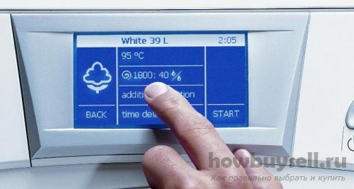 Дополнительные системы и функции качественной стиральной машины