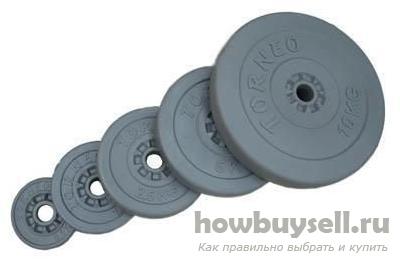 диски и блины (веса) для гантелей