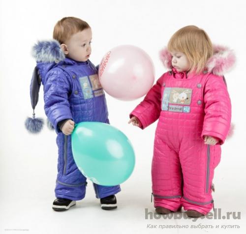Детям в любом возрасте нужна теплая одежда