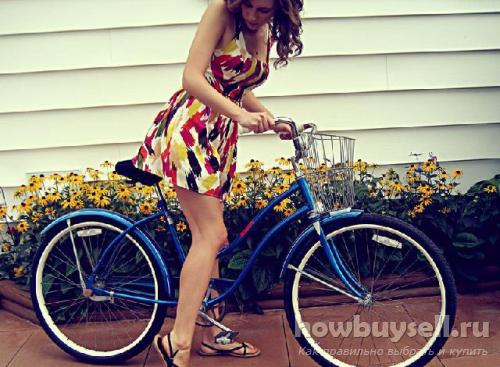 Велосипед для девушки (женский)