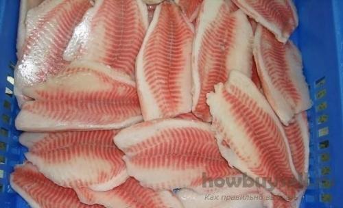 Все самое вкусное: филе, тушки и стейки из рыбы