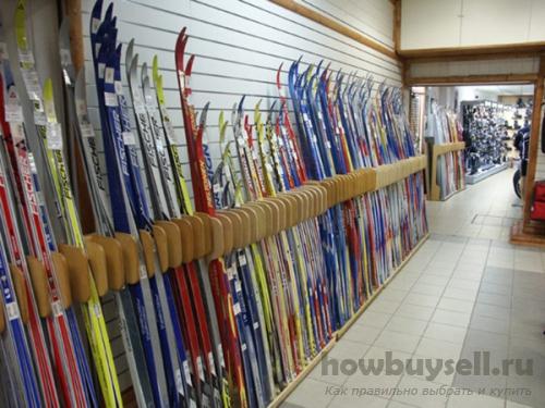 Как выбрать лыжи (горные, беговые) по росту, весу и параметрам