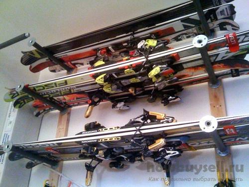 Подготовка и хранение лыж