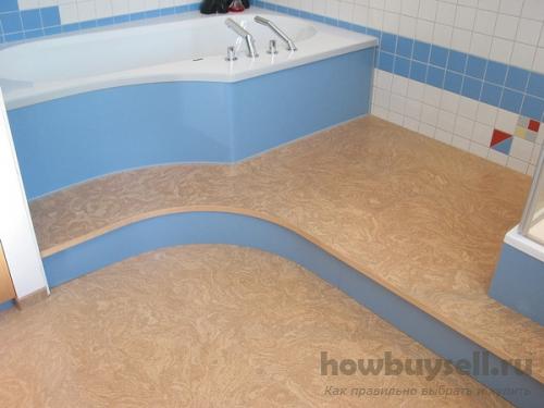 Какое напольное покрытие выбрать для ванной?