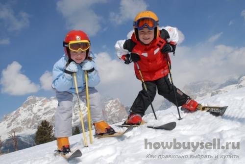 Как правильно выбрать лыжи для ребенка?