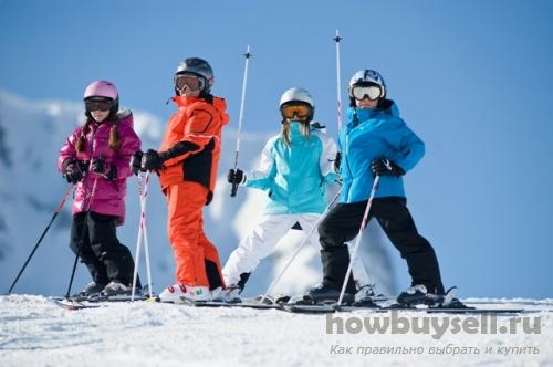 Палки и крепления для лыж