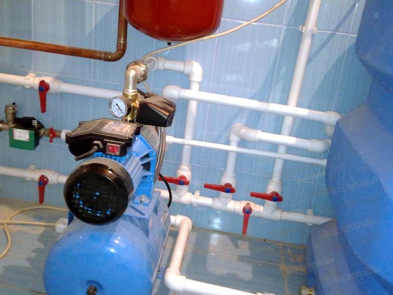 Правила установки насосной станции