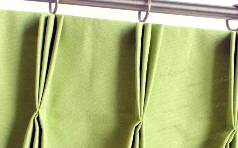 Тройные складки (защипы) на шторе