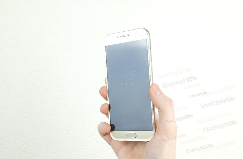 форма смартфона Samsung Galaxy А5 2017