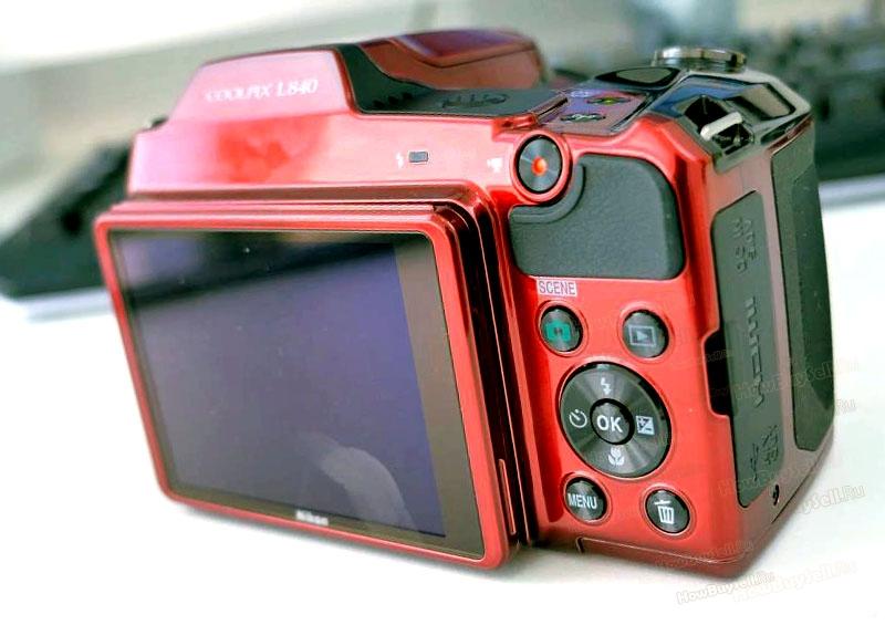 Корпус фотоаппарата coolpix L840