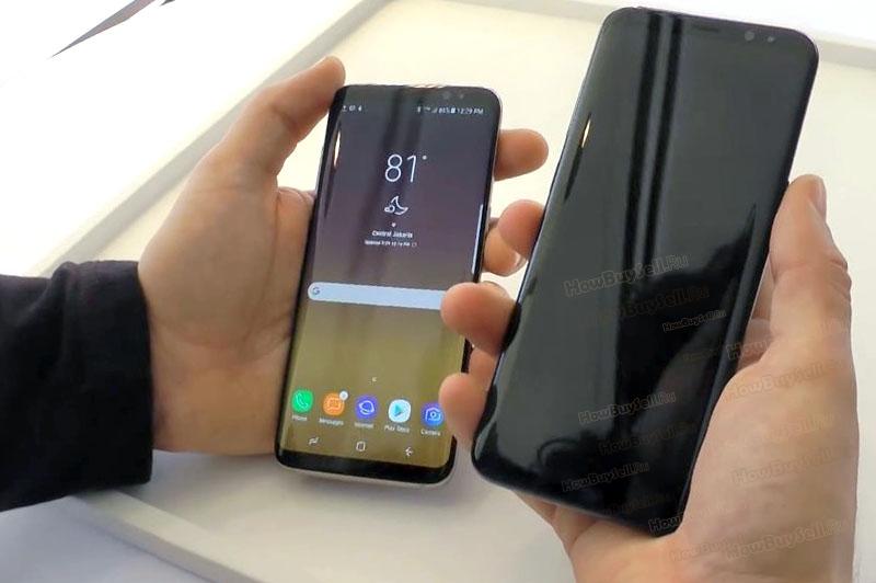 Заряд батареи Galaxy S8